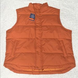St Johns Bay Men's Puffer Vest - Size M - NWT